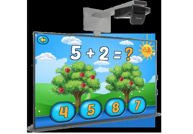 """Мультимедійний комплект для НУШ """"Інтерактивна дошка з проектором"""". Ціна та характеристики."""