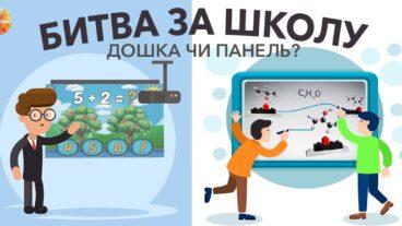 Що обрати: дошку чи панель для школи? Порівняння та досвід вчителів