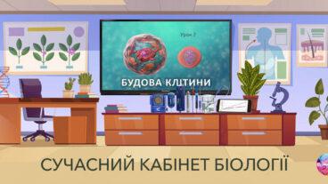Сучасний кабінет біології